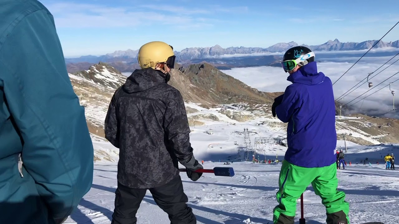 Fun and Action with Snowsports Academy! Snowboard Instructor Course 2018