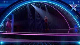 El BAILE CONTEMPORÁNEO de este CONGOLÉS te MARAVILLARÁ | Semifinal 4 | Got Talent España 5 (2019)
