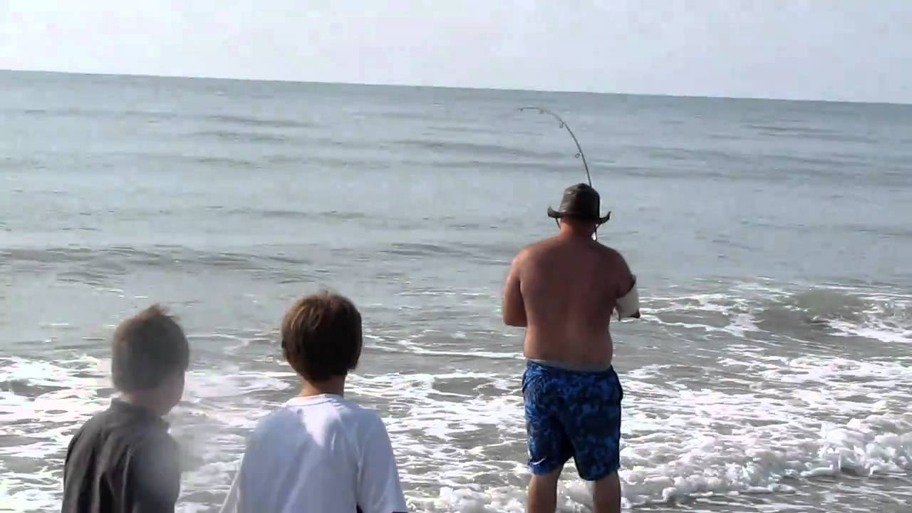 2010 Shark Caught At Myrtle Beach Shore