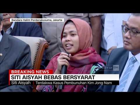 Ucapan Terima Kasih Siti Aisyah untuk Pemerintah Pasca Putusan Bebas