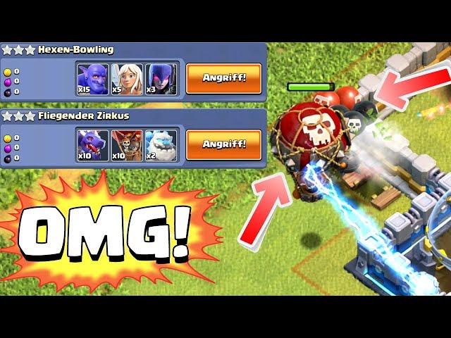 DAS IST DAS SCHWERSTE LEVEL!!!! ☆ Clash of Clans Update ☆ CoC