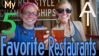 my top 5 favorite restaurants along the appalachian trail