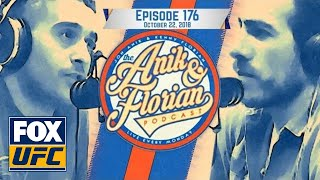 UFC Moncton preview | EPISODE 176 | ANIK AND FLORIAN PODCAST