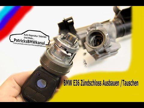 BMW E36 Zündschloss Ausbauen/Tauschen