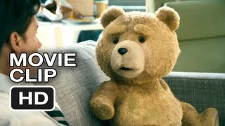 Ted Movie CLIP #2 - White Trash Name  -Mark Wahlberg, Mila Kunis, Seth MacFarlane Movie HD