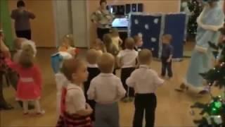 Новый год в детском саду. Танец с детьми 2 года