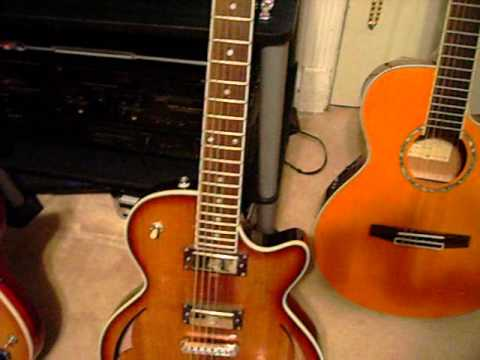 Parkwood Hybrid Pwh4 Acoustic Electric Guitar