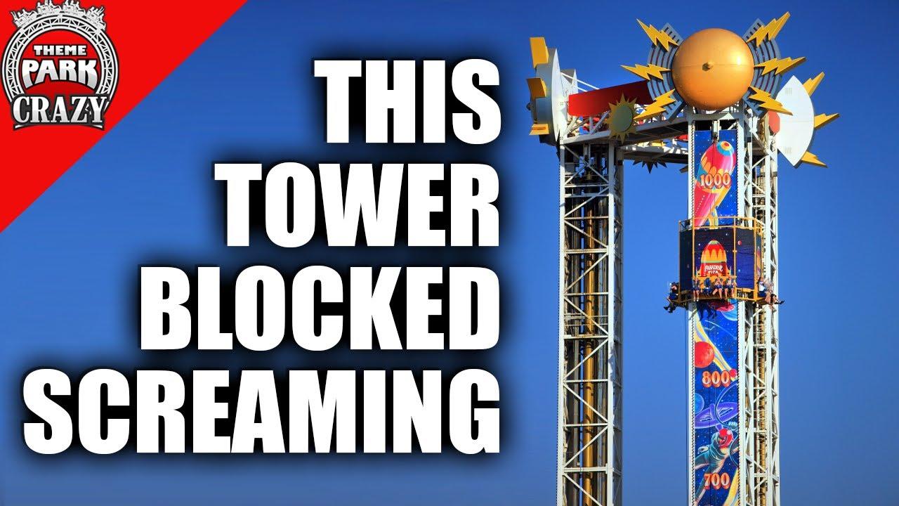 This Drop Tower BLOCKED SCREAMING - Maliboomer at Disney's California Adventure