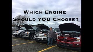 Which Engine Should YOU CHOOSE in Your F-150? (5.0L, 3.5L, 2.7L, 3.3L)
