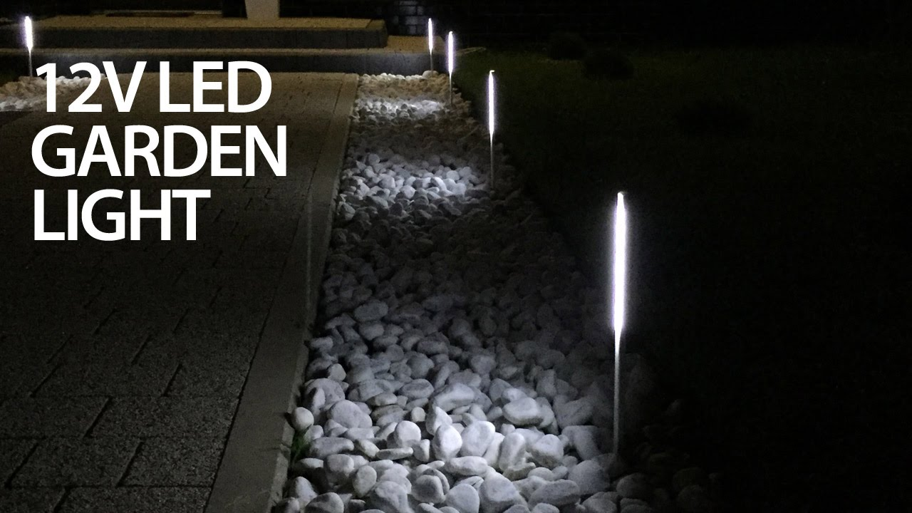 Cheap LED Garden Light That Doesnu0027t Suck (12V DIY)   YouTube