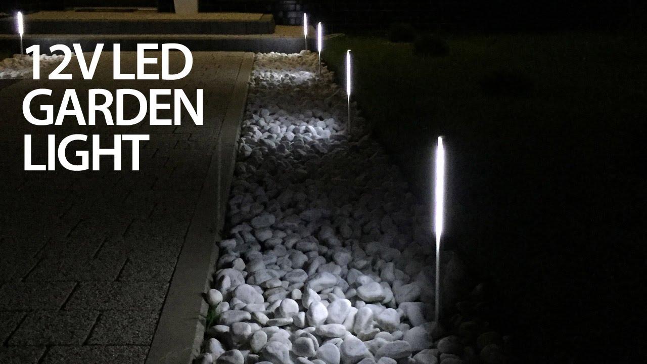 Cheap Led Garden Light That Doesn39t Suck 12v Diy Youtube