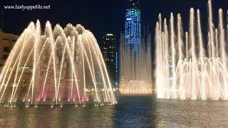 DUBAI FOUNTAIN SHOW 2018 / DUBAI MALL FOUNTAIN SHOW