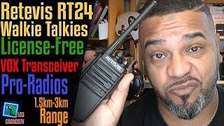 Retevis RT24 License-Free PMR446 Walkie Talkies