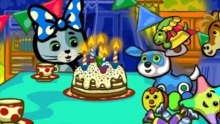 КОТЯТКИНЫ ИСТОРИИ - День рождения | Мультфильм для маленьких | Три котенка