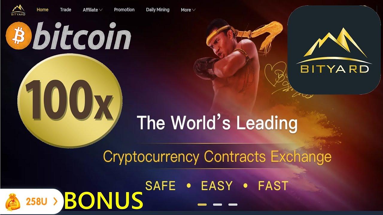 cryptocurrency exchange bonus