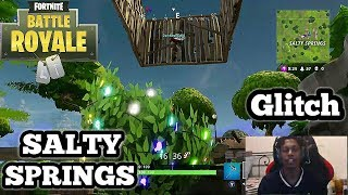 Fortnite: Battle Royale | **NEW SECRET UNDERGROUND GLITCH IN SALTY SPRINGS**
