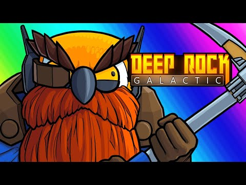 Deep Rock Galactic Funny Moments - Fugly Dwarven Exterminators!