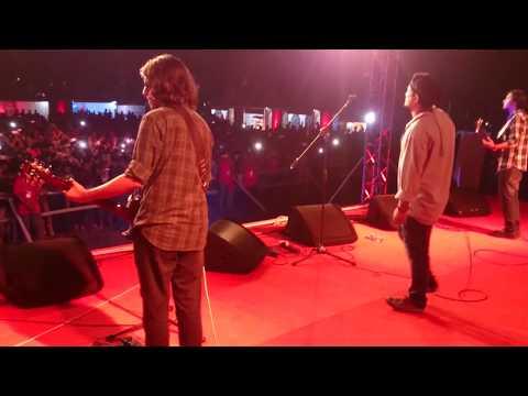 Ashes live Dhulabali on FEAst on WHEELS at kolabagan field