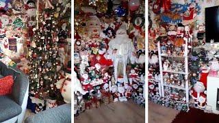 بالفيديو| 20 سنة كريسماس.. رجل يجمع 300