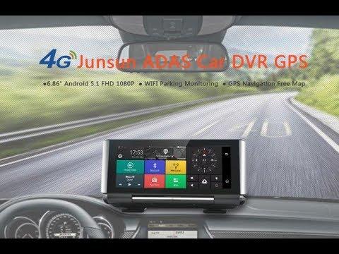 Car DVR Camera 4G ADAS Android 5.1 GPS Bluetooth Dash Cam 1080P Video Recorder