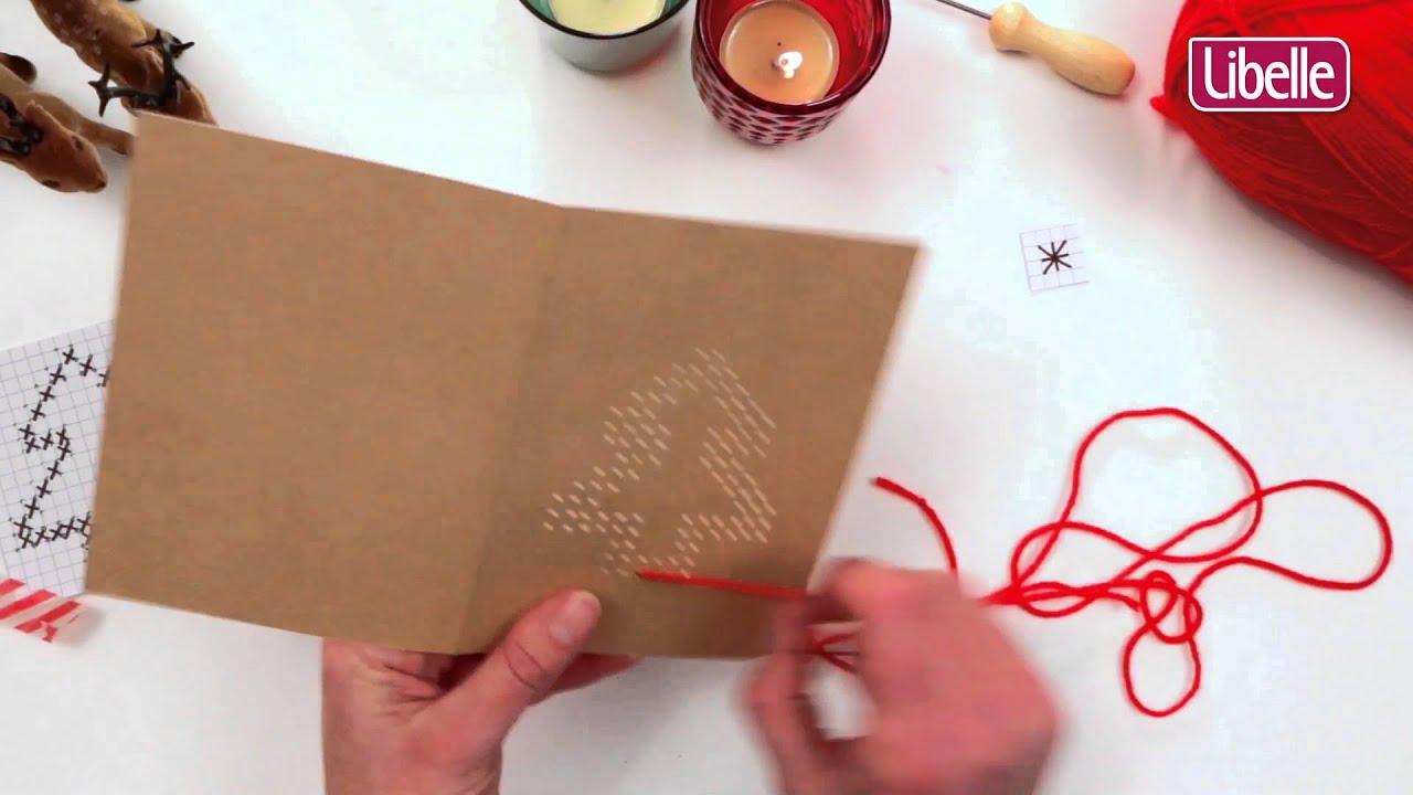 Zelfgemaakte Kerstkaart Youtube