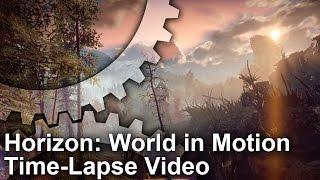 [4K] Horizon Zero Dawn Time-Lapse: World in Motion