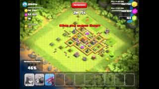 Clash of Clans - Angriff mit hohem Einsatz und hoher Beute