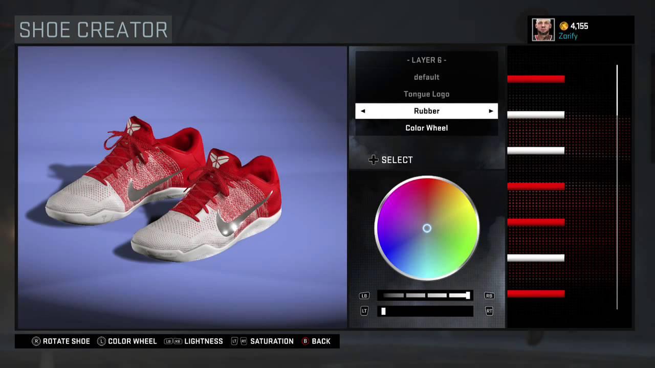 NBA 2K16 Shoe Creator - Nike Kobe 11 Custom