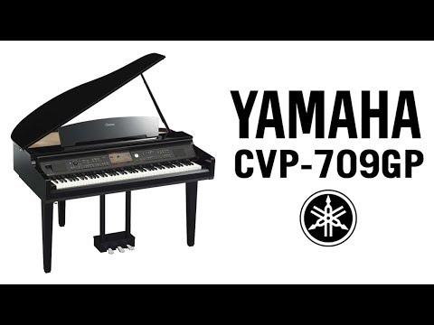 Yamaha Clavinova CVP-709GP Demo