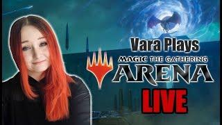 War Of The Spark Spoilers + Ranked Gameplay - Vara Plays MTG Arena