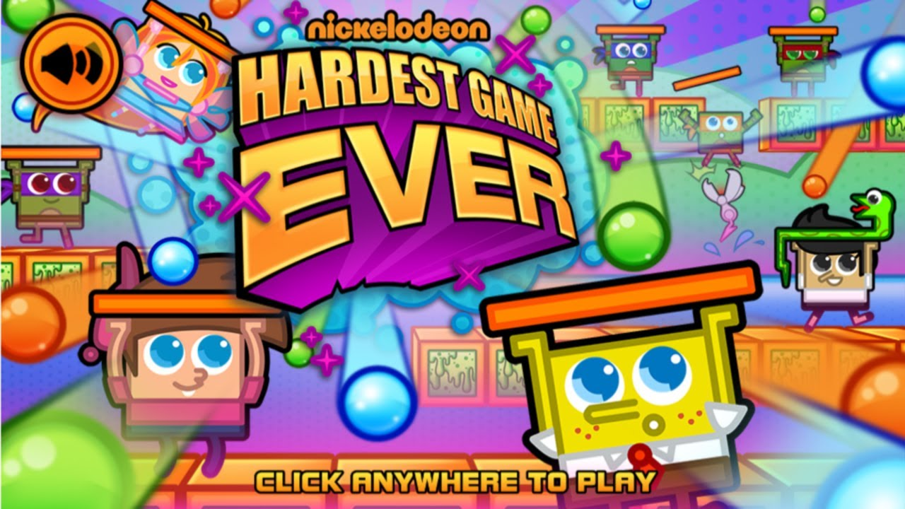 Nick games nickelodeon s hardest game ever
