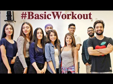 Basic Work Out | Before Dance | Girls Group | Teaching Steps | Bollywood Workout