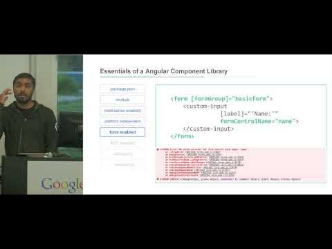 Creating & Publishing Angular (2+) Component Libraries ft. Anas Firdousi
