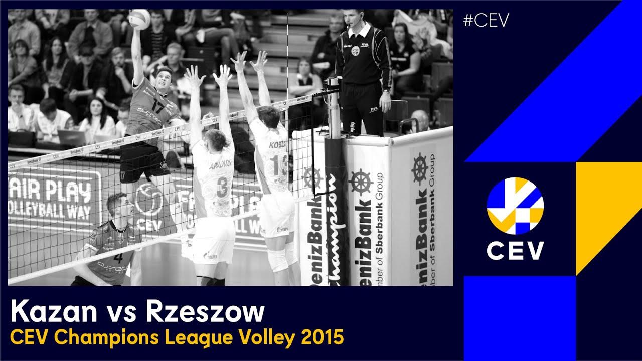 Zenit KAZAN vs Asseco Resovia RZESZOW FULL MATCH - 2015 #CLVolleyM Finals