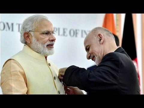 PM Narendra Modi awarded Afghanistan's Highest Civilian Honour - Amir Amanullah Khan Award