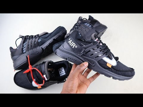 Real vs Replica Off White Nike Air Presto | How to spot fake Nike Prestos