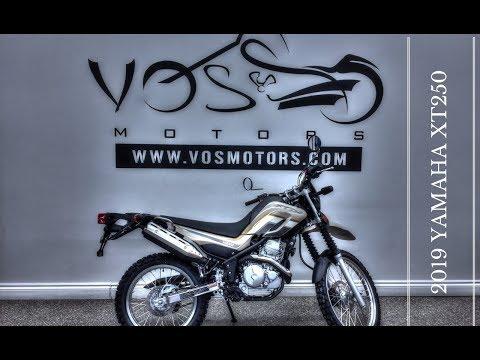 Brand new 2019 Yamaha XT250 Walkaround - YouTube