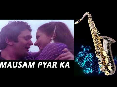 #287:- Mausam Pyar Ka   Sitamgar   Kishore-Asha  Best Bollywood Saxophone Instrumental