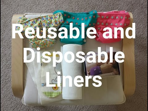 REUSABLE AND DISPOSABLE LINERS