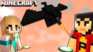 MINECRAFT | ARMA asta FUNCTIONEAZA! E DRAGON-ARMA