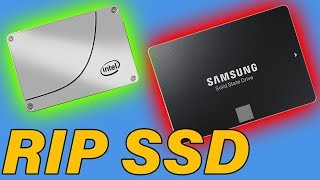 How To Tell If An SSD Is Dying?