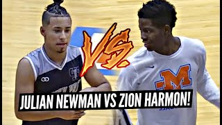 Julian Newman vs Zion Harmon!! Best Friends BATTLE In Front Of Sold OUT Crowd!! Zion Drops 33!!