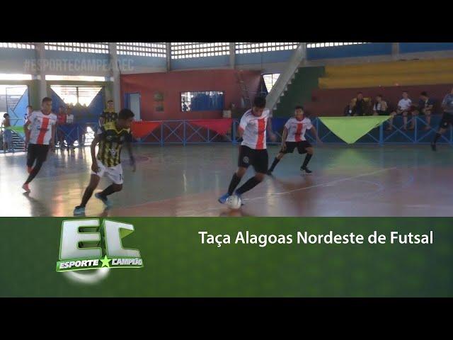 Maceió sediou a Taça Alagoas Nordeste de Futsal
