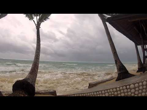 Typhoon Pablo in Siargao Island Philippines-Romantic Beach Villas