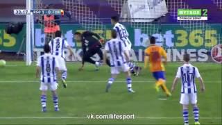 Реал Сосьедад 1-0 Барселона обзор матча 09.04.2016