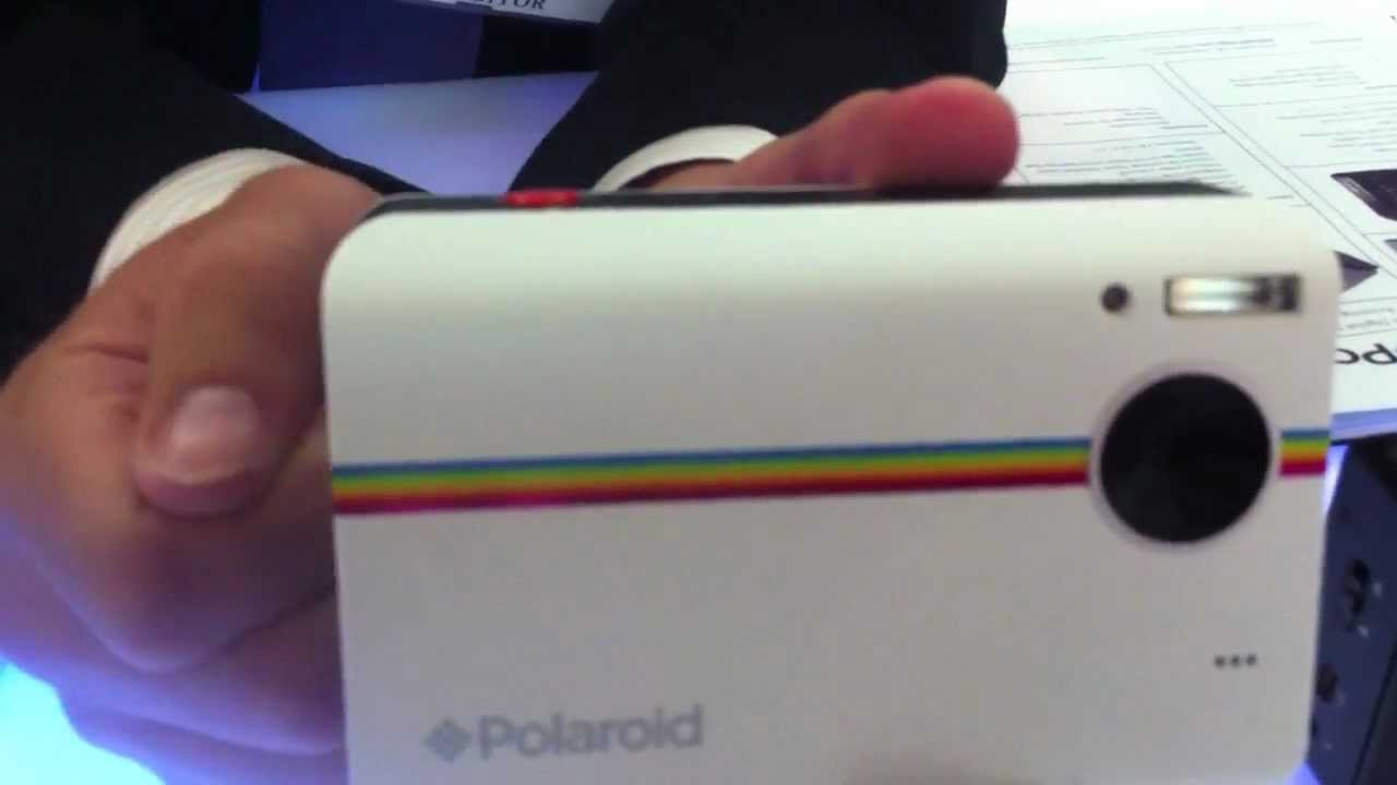 Polaroid Z2300 Instant Digital Camera Hands-On - YouTube