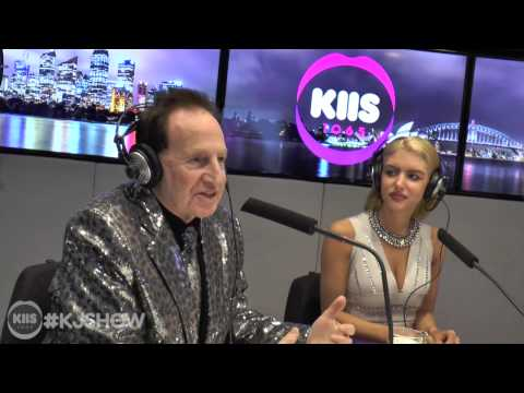 Geoffrey Edelsten And Gabi Grecko Kiss; Talk About Sex Life