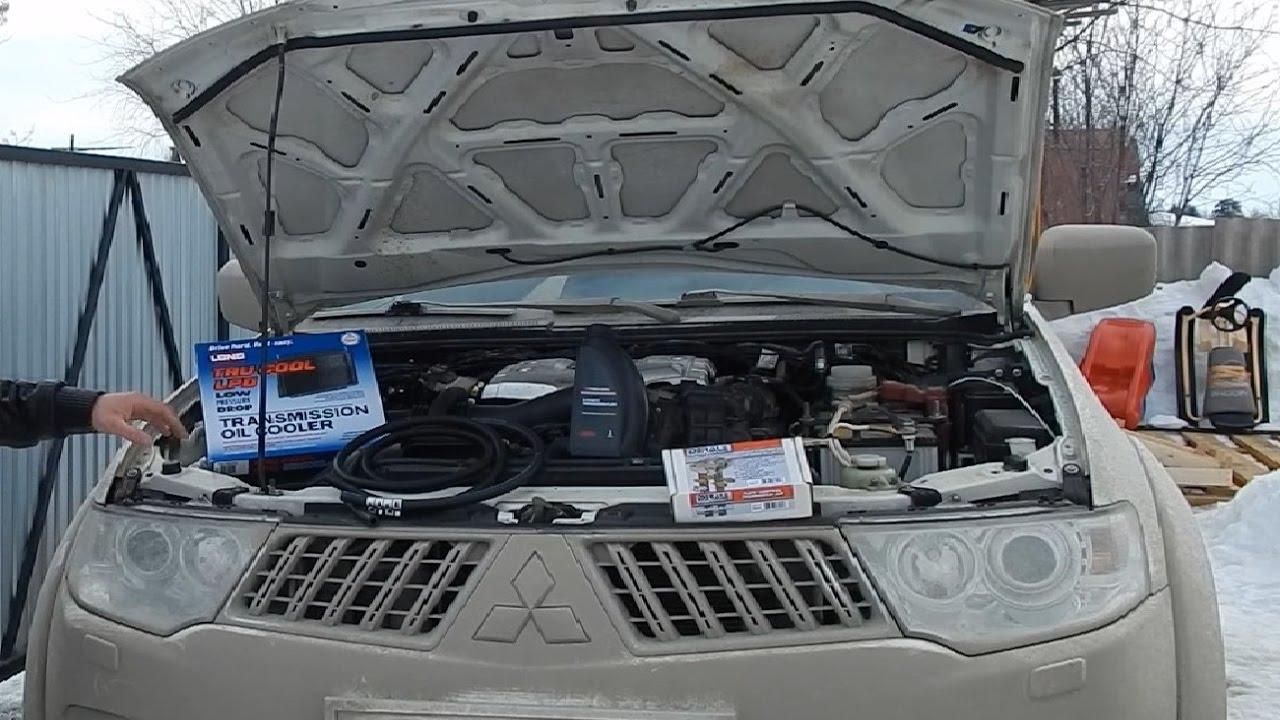 Дополнительный радиатор на акпп калины