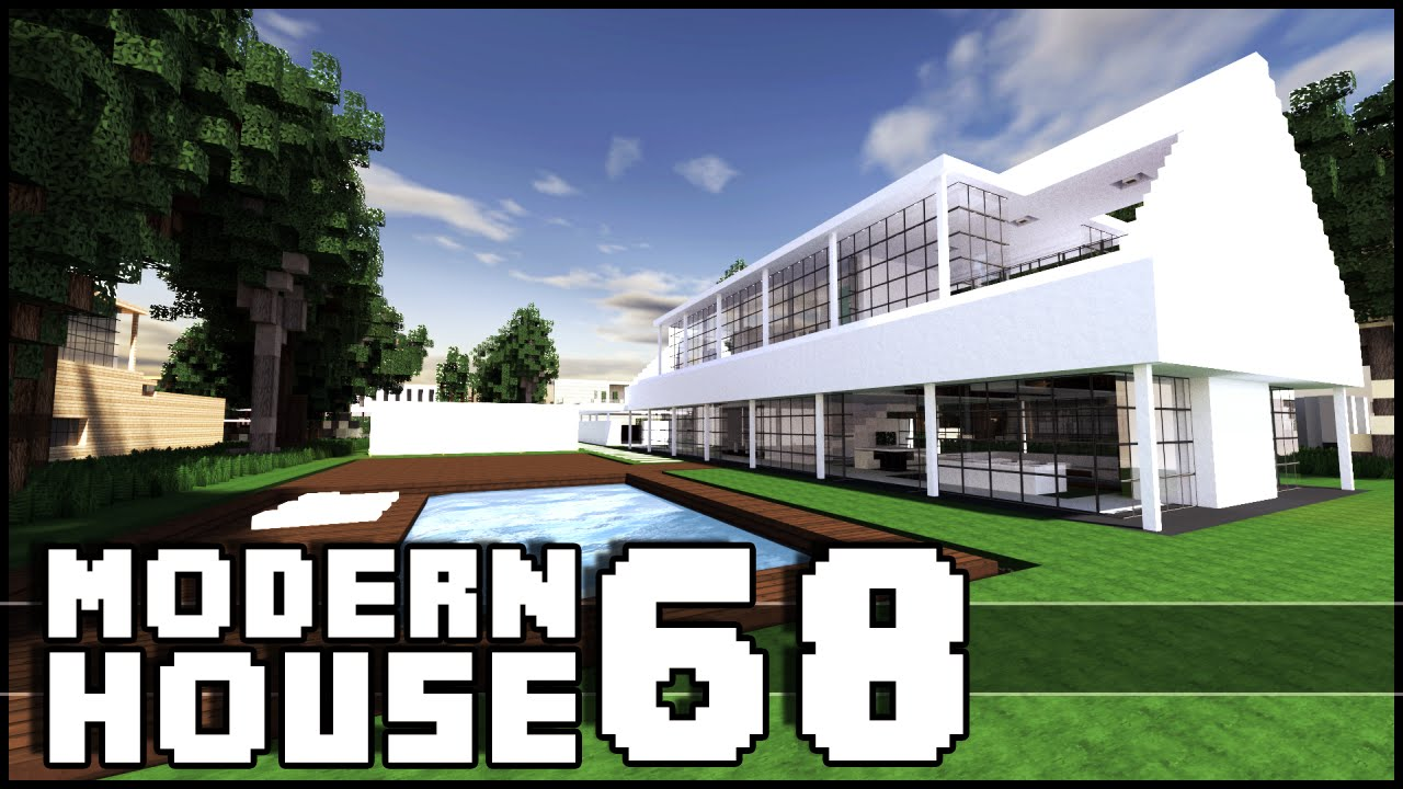 Minecraft Modern House 68 YouTube