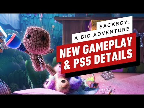 Sackboy: A Big Adventure – New PS5, PS4 Gameplay Details